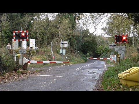 Gomshall Level Crossing