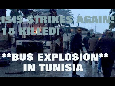 ISIS claims bomb attack on Tunisian presidential guard that killed 15 - 2SN