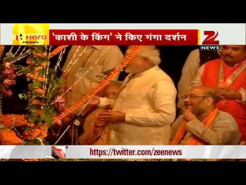 Narendra Modi attends 'Ganga Aarti' in Varanasi, thanks people for support