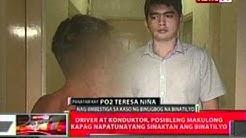 QRT: Batang hamog sa Antipolo, binugbog   ng driver at konduktor nang   tangayin ang kanilang kita
