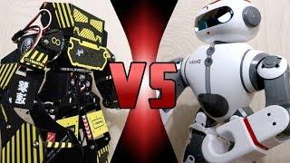 ROBOT DEATH BATTLE! -  Super Anthony VS Dobi (ULTIMATE ROBOT DEATH BATTLE!)