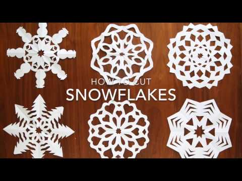 Snowflakes Instructions