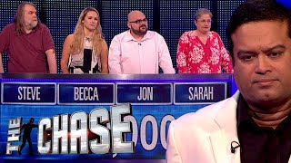 The Chase | Can a Full House Team Outrun The Sinnerman for a HUGE £50,000?