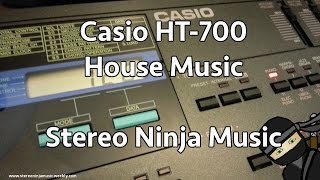 Casio HT 700 - House music