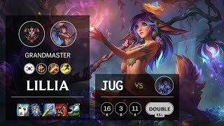 Lillia Jungle vs Sylas - KR Grandmaster Patch 10.16