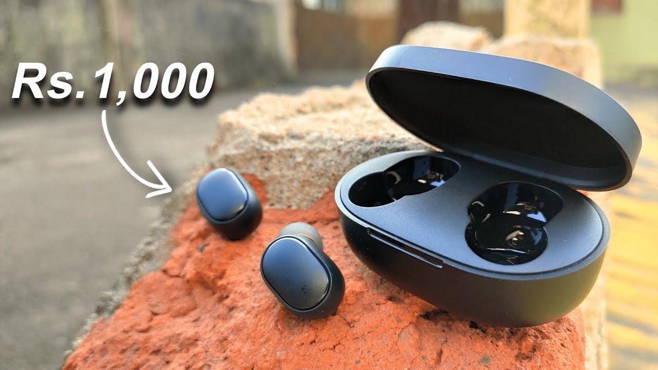 Best Bluetooth Earbuds Under Rs 1000 Redmi Airdots Best Bluetooth Earphones Under 1000 Youtube