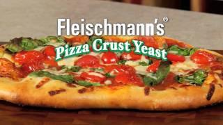 Pizza Favorites: Fleischmanns Basic Pizza Crust Recipe