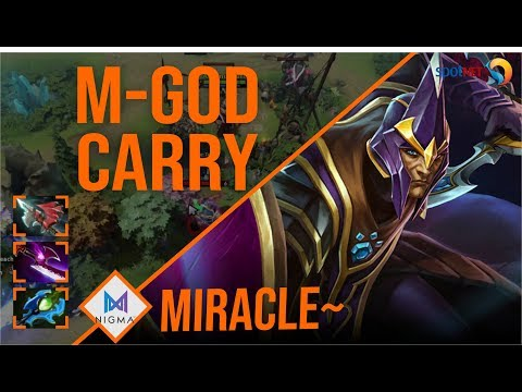 Miracle - Silencer   M-GOD CARRY   Dota 2 Pro Players Gameplay   Spotnet Dota 2