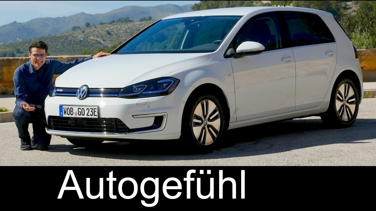 Volkswagen E Golf Full Review Vw Egolf Range Facelift 2018 2017 Autogefühl