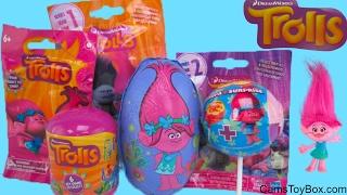Dreamworks Trolls Surprise Toys Light Up Fashion tag Blind Bags Series 1 2 Chupa Chups Lollipop Caps