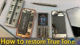 How to restore True Tone on iPhone using iCopy Programmer