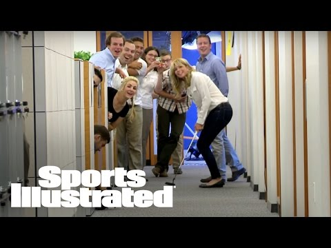 Paula Creamer Sinks 70 ft. Hallway Putt | Sports Illustrated