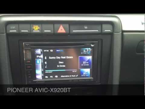 Audi S4 2006 with pioneer AVIC-X920BT