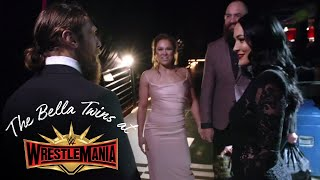 RONDA ROUSEY chats with Brie and Bryan at WWE Hall of Fame!