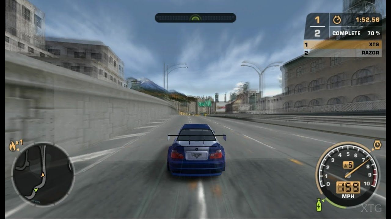 Need for Speed: Most Wanted PS2 Gameplay HD (PCSX2) - YouTube