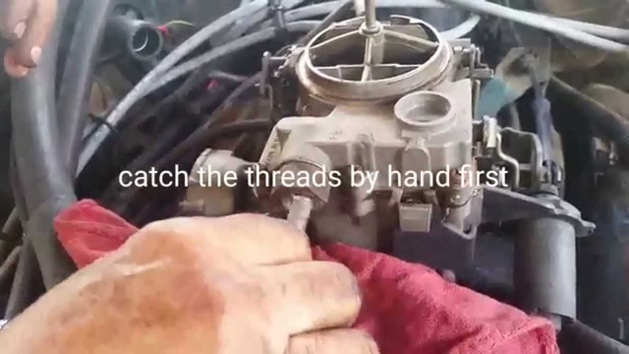 How To Replace a Fuel Filter On A 19771985 Chevy Impala  Caprice  YouTube