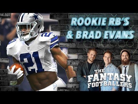 Yahoo's Brad Evans, Rookie RB Rundown, & Mailbag Ep. #203 - The Fantasy Footballers