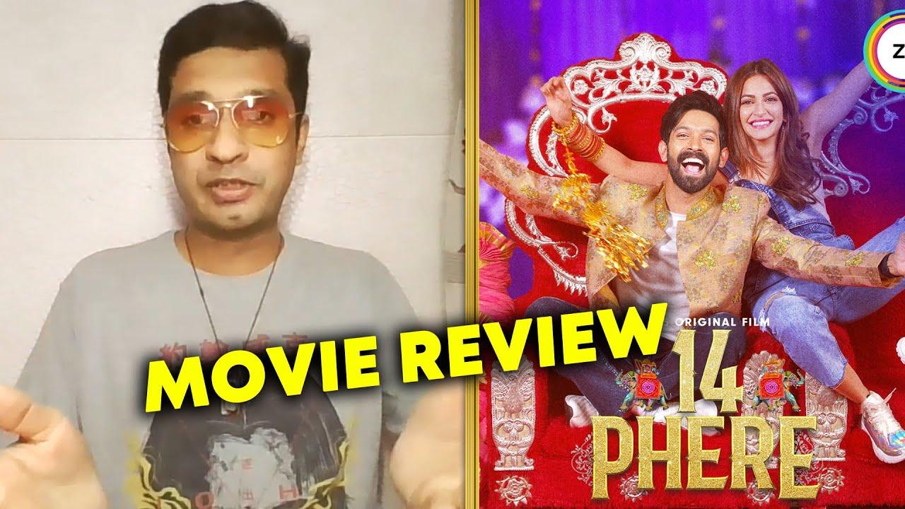 14 Phere REVIEW By Rj Divya Solgama   Vikrant Massey, Kriti Kharbanda