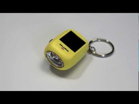 Rubytec Kao - Baby swing solar flashlight