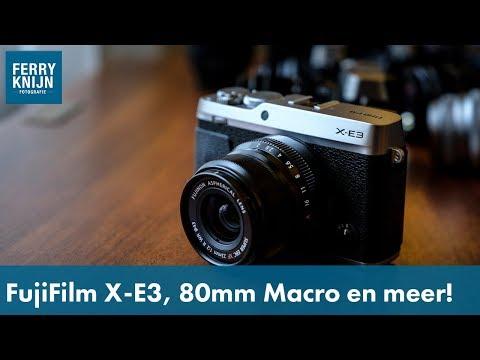 Ferry's Fast Foto News: X-E3, XF80mm macro, GF45mm en Profoto Air TTL Trigger