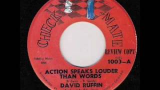 DAVID RUFFIN  Action Speaks Louder Than Words  JUL