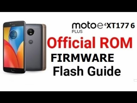 allinone: How To Flash Moto E4 Plus XT1776|Flash File | Tool