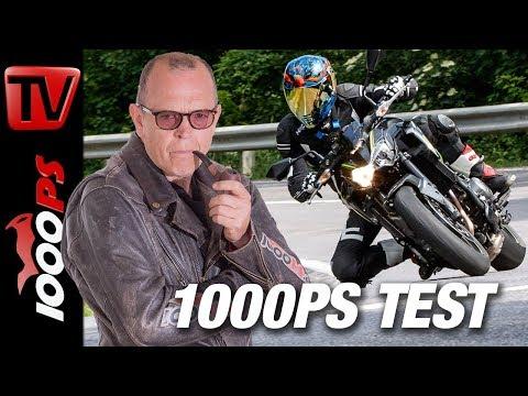 Kawasaki Z900 - Naked Bike Vergleich 2018 - Teil 5 von 7 - Täglich 1 Video