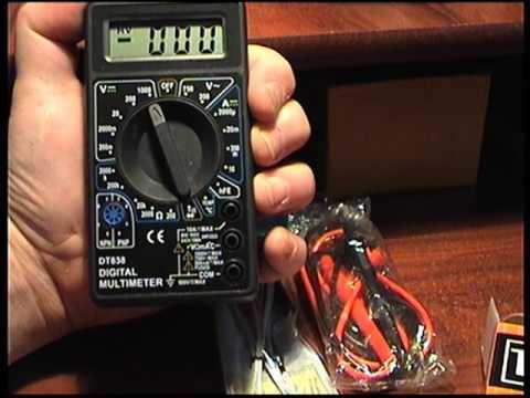 Мультиметр Ресанта DT 838
