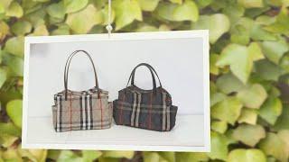 가방 만들기 / 가방 패턴 / 윗면 지퍼막음 있는 완성…