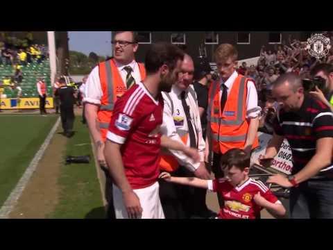 Juan Mata Big  respect ..happy boy