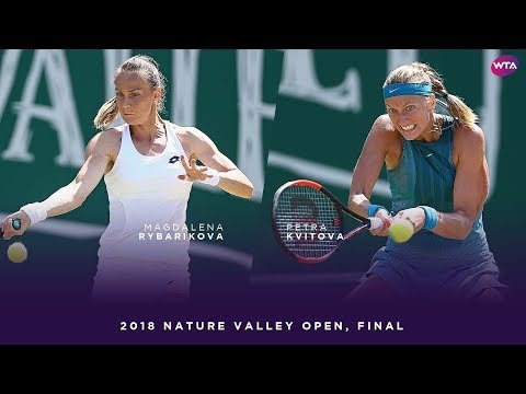 Magdalena Rybarikova vs. Petra Kvitova | 2018 Nature Valley Classic Final | WTA Highlights