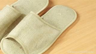 DIY como confeccionar pantuflas  faciles y sencillas  how to make easy and simple slippers