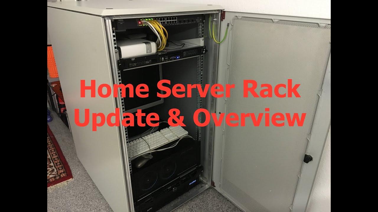 and watch youtube cabinet runthrough design server setup rack