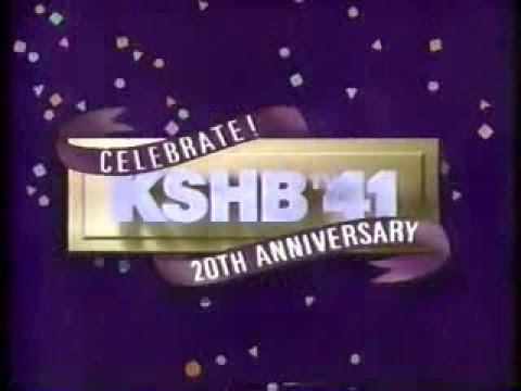 "KSHB-TV 41 ""20th Anniversary"" Station ID 1990"