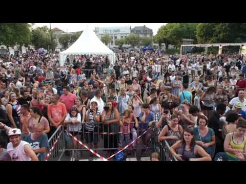 Allen B. feat Sarah Michelle Live Fête de la musique Limoges 21 juin 2017