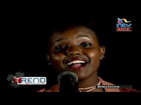 #theTrend: Nikita Kering performs 'Happy with You' LIVE