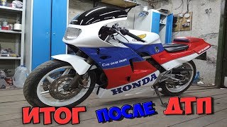 Honda VFR 400. Ремонт і покраска пластику