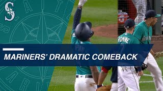 Mariners stage big comeback to beat the Red Sox
