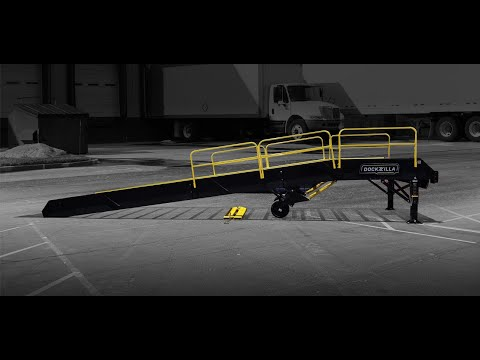 DOCKZILLA® Mobile Yard Ramps And Portable Loading Docks