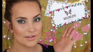ROZDANIE i premiera palety GlamBOX KOLORLOVE + MOJE URODZINY + kolorowy tutorial