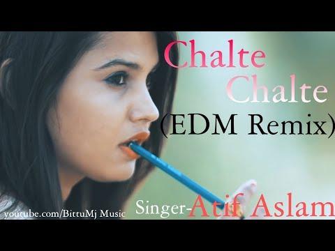 Chalte Chalte (EDM Remix) Mitron | Atif Aslam | Chalte Chalte Remix | Whatsapp Status Video New Song