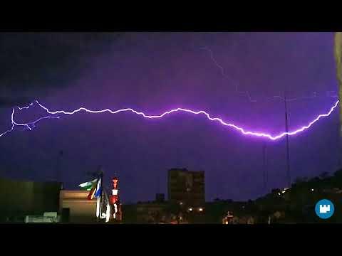 Tormenta eléctrica sobre Alcalá - Manu Sánchez