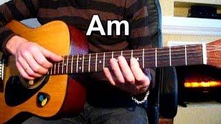 Постой паровоз Тональность ( Am ) Песни под гитару