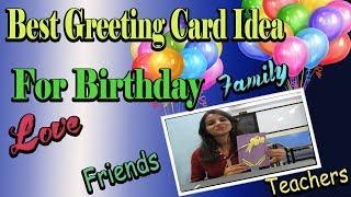 Handmade Birthday Greeting Card   Best B