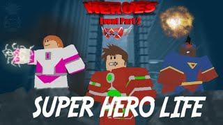 Roblox Helden Event Teil 2 (Super Hero Life)
