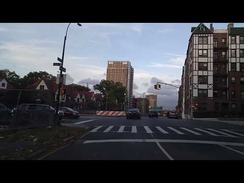 Driving from Forest Hills to Flushing in Queens,New York