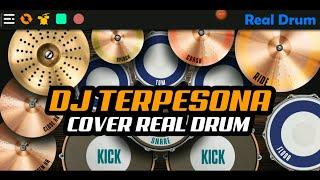 DJ TERPESONA AKU TERPESONA LAGU TIK-TOK VIRAL   COVER REAL DRUM