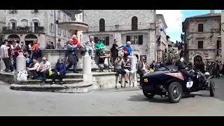 Mille Miglia ad Assisi 2019