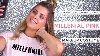 LAST MINUTE HALLOWEEN TUTORIAL   millennial makeup costume