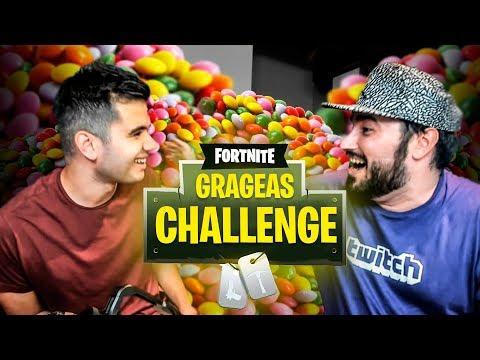 SI MUERES GRAGEA CHALLENGE | Lolito Y sTaXx | FORTNITE